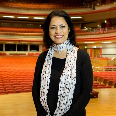 Anita Bhalla OBE  Chair Performances Birmingham