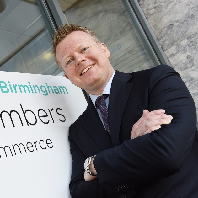 Paul Faulkner  Chief Executive, Greater Birmingham Chambers of Commerce