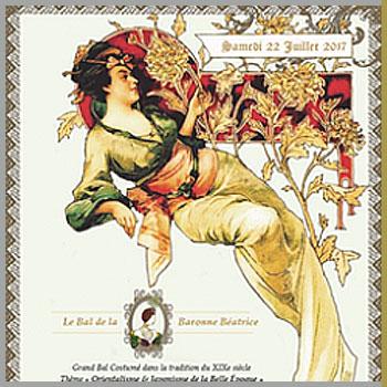 Bal de la Baronne Béatrice - 2e édition - le 22 Juillet 2017