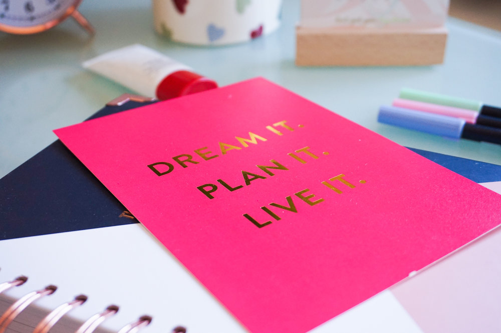 Inspirational quotes are one of my work from home desk essentials.jpeg