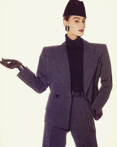 Power Suit of the Day: Saint Laurent, 1987