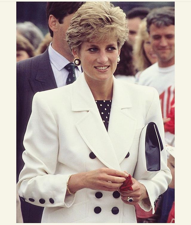 Power Suit of the Day: Princess Diana.