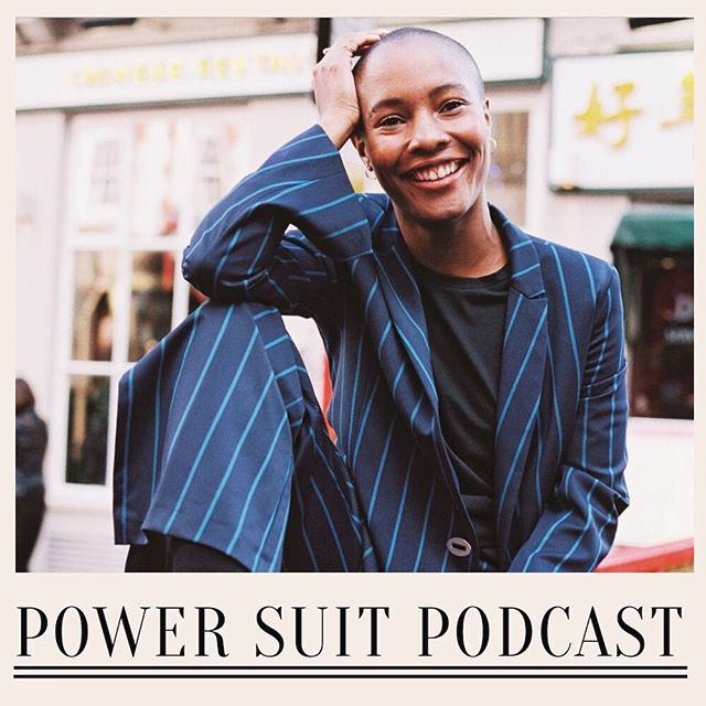BRAND NEW episode of Power Suit Podcast out today! Featuring the inimitable @livslittle on her story of starting @galdemzine while still at uni and turning it into a media powerhouse doing Guardian Weekend takeovers and raising funding. Her passion for changing representation in media is as infectious as her smile! Here is Liv loving life in a power suit 💥