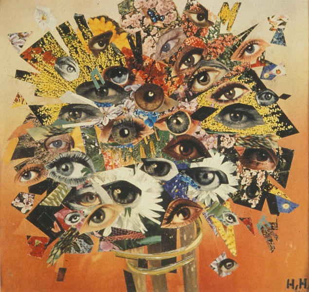 Bouquet of Eyes , Hannah Höch, 1930