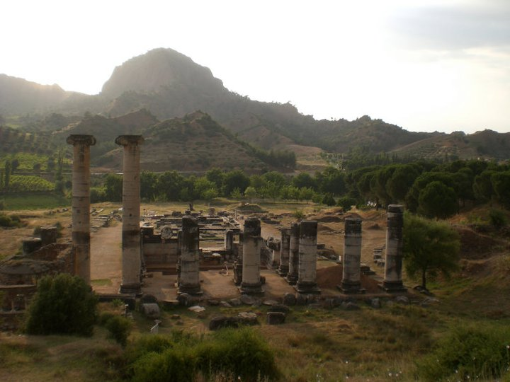 Turkey - The Temple of Artemis at Sardis