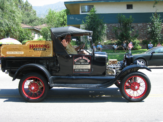 The 1926 Ford Model T Roadster at the Sierra Madre 4th of July Parade. – Courtesy photo / Norm Haley