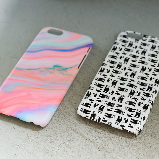 Bespoke matte and gloss phone cases, designed and printed on-demand with Kite . . . . . . #marble #panda #pattern #creative #bespoke #kitecreate #print #entrepreneur #phonecases #style #shopify #printondemand