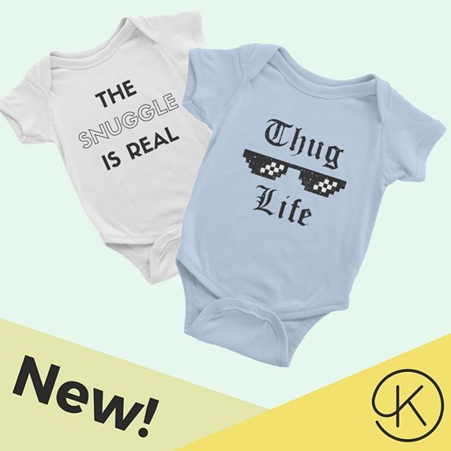 Roll up, roll up, get ya custom baby bodysuits here! 👶🎨 . . . . . #printondemand #customprinting #print #babyshower #baby #tshirtdesign #style #minime #babygrow #shopify #shopifystore #create #diy #canyoutellimnotagraphicdesigner
