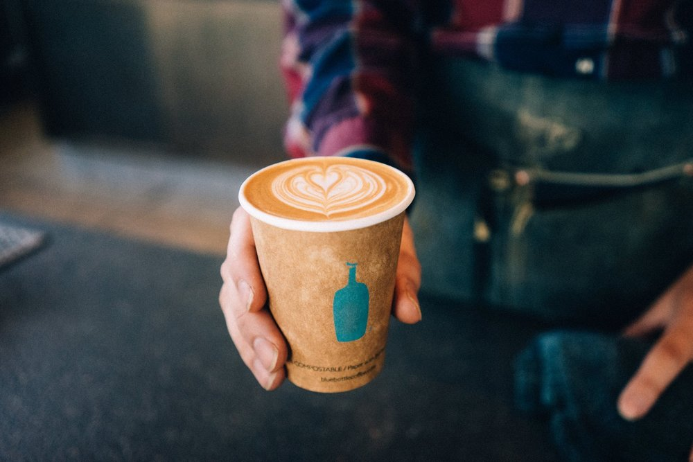 photo courtesy of  Blue Bottle