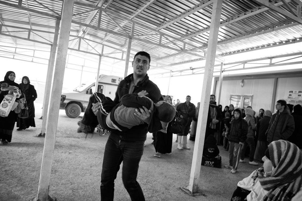 Mosul/Erbil, Irak. Januari 2017    Valutan är människoliv och lidande    Visa berättelsen >>