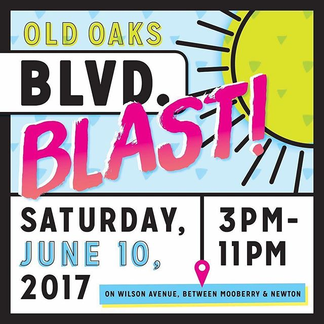 Come on out to Blvd Bash! It starts in an hour, and we'll take the stage later tonight! There will be a @fourstringbrew #beergarden , vendors and more! #columbusfestival #boulevardbash #oldoaks