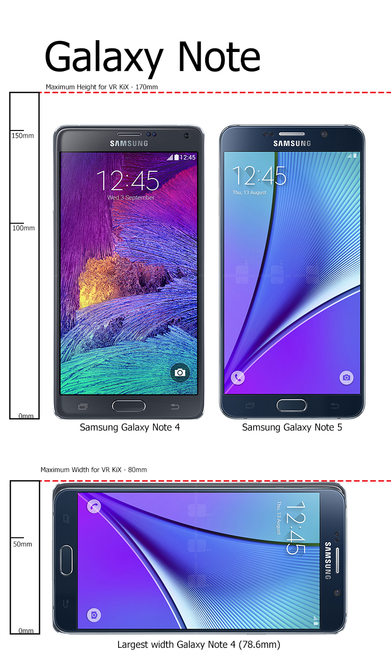 The Samsung Note 4 will be a tight fit. You case must be removed to fit this phone into the tray.
