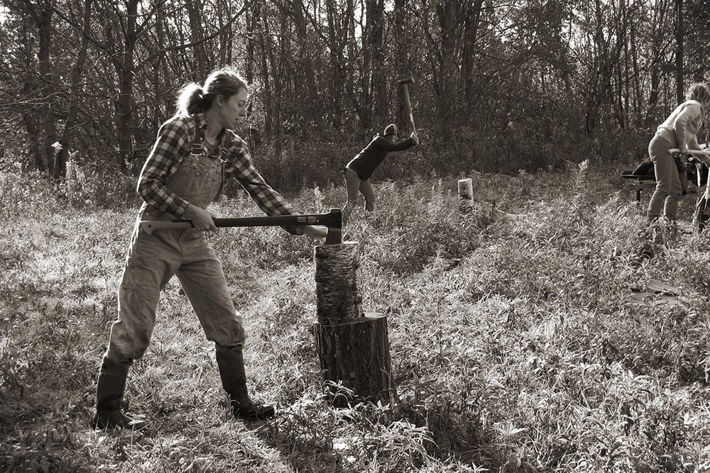 Women Chop Wood