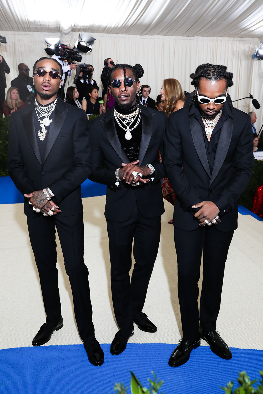 "Migos x ""Rei Kawakubo/Comme des Garcons: Art Of The In-Between"" photo by Prutting/BFA/REX/Shutterstocl"