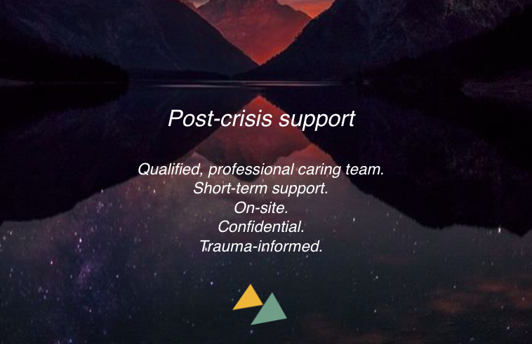 Immediate, confidential and tailored support when you need it most. We can assist in formulating a trauma-informed response, provide tools and information to staff and help them process the event so they can better serve your clients, patients and students.