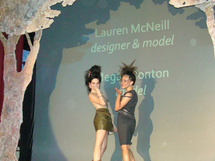 Me and my BFF strutting our stuff!