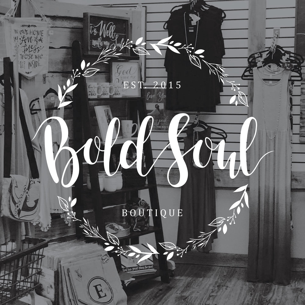 BoldSoul Boutique | Brand Logo | One Nine Design Co