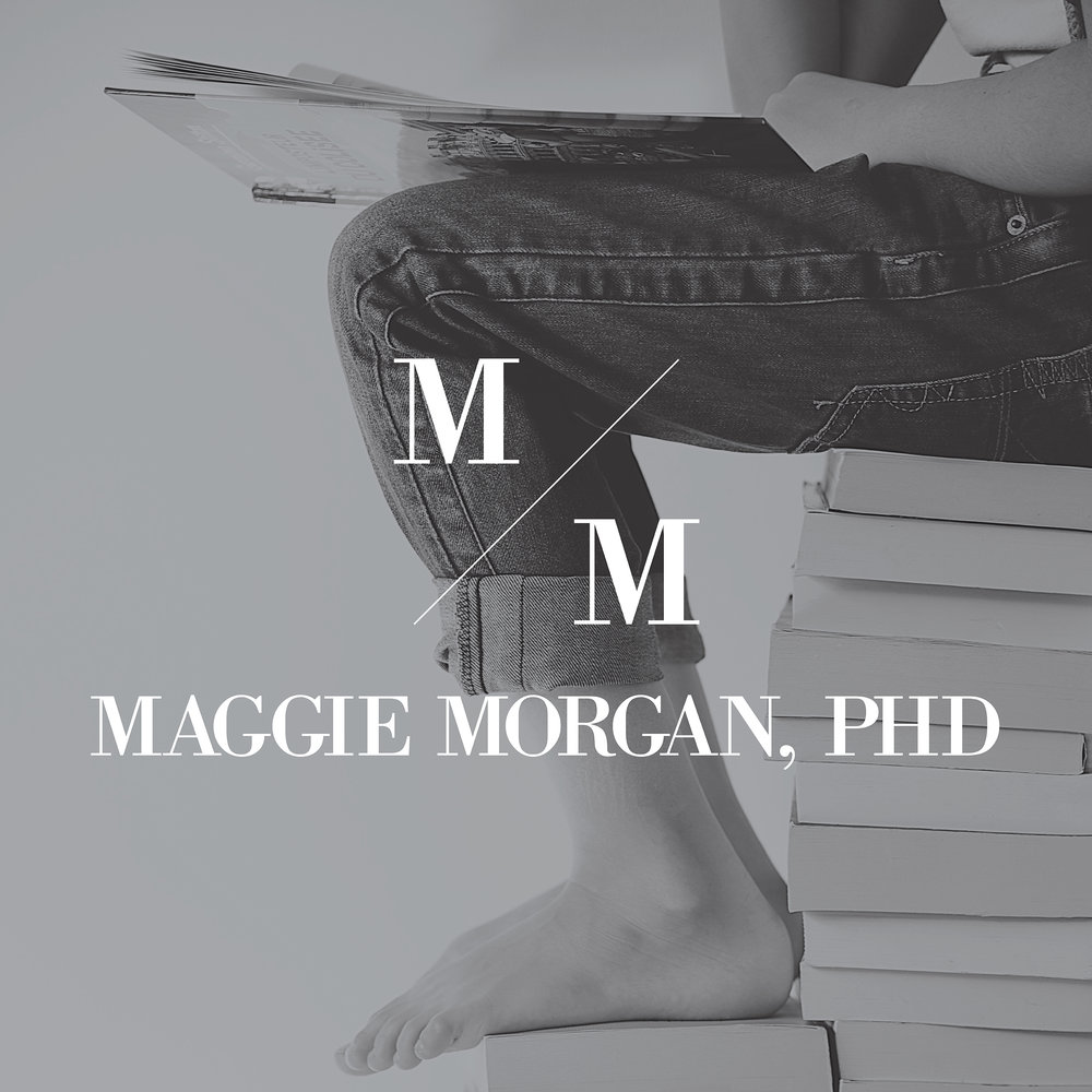 Maggie Morgan, PHD | Brand Logo | One Nine Design Co