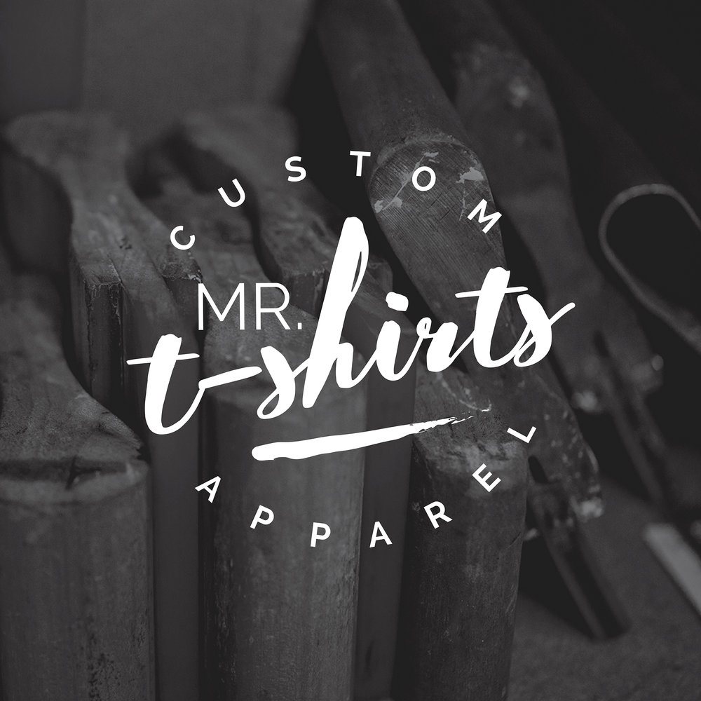 Mr. T-Shirts | Brand Logo | One Nine Design Co