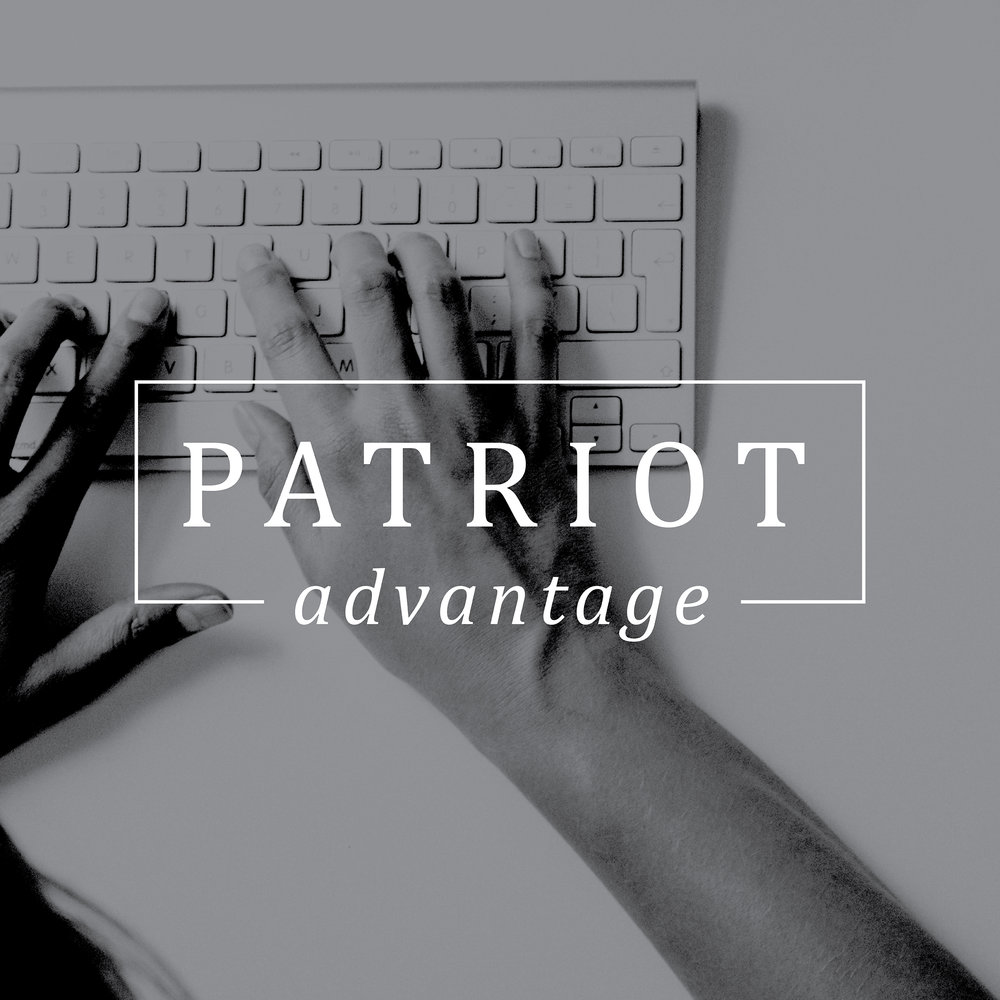 Patriot Advantage | Brand Logo | One Nine Design Co