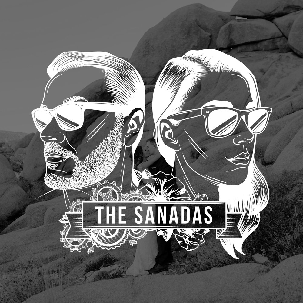 The Sanadas | Brand Logo | One Nine Design Co