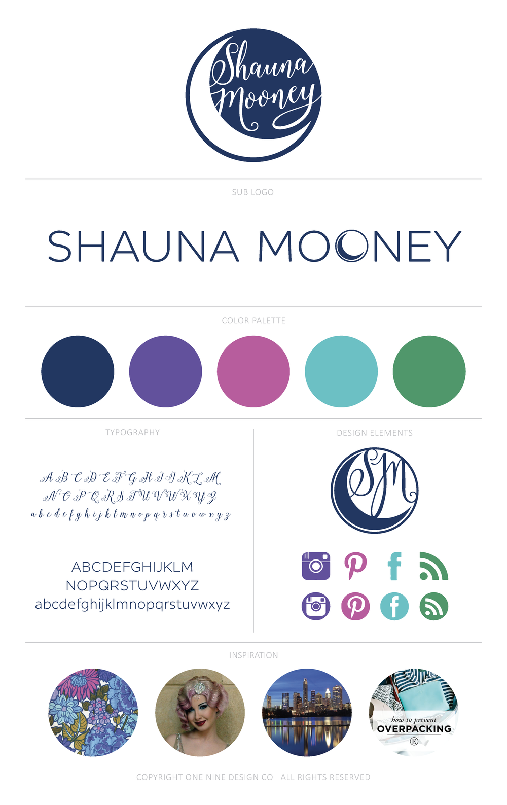 Shauna Mooney Brand | One Nine Design Co