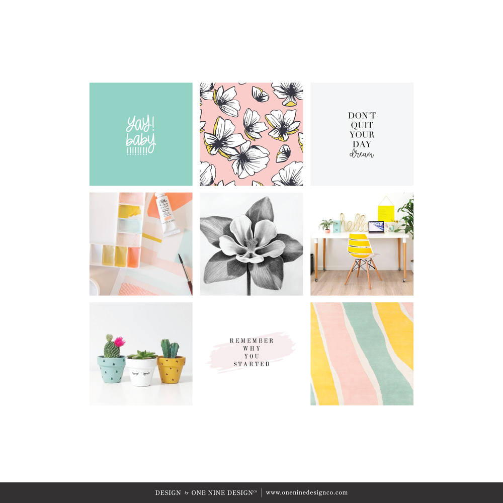 One Nine Design Co Mood Board | One Nine Design Co