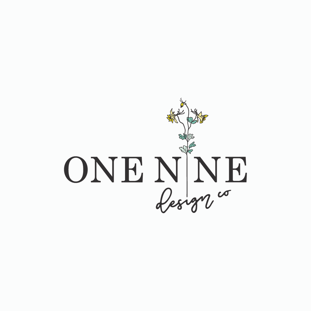 One Nine Design Co Logo | One Nine Design Co