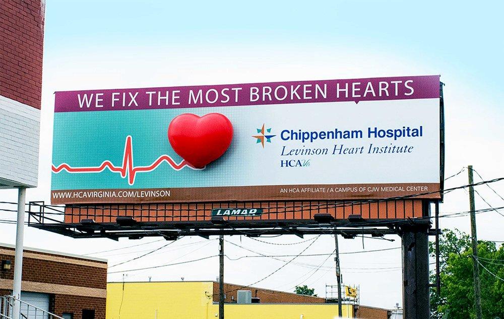 Soft Signs 3D Chippenham Hospital 3D Heart