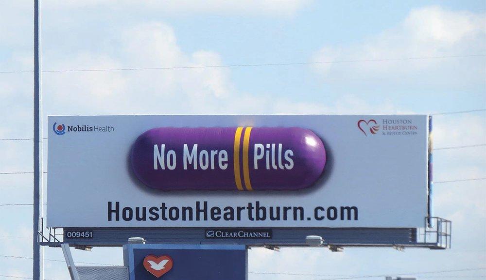 Soft Signs 3D Houston Heartburn Purple Pill