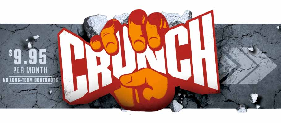 Crunch Fitness Creative
