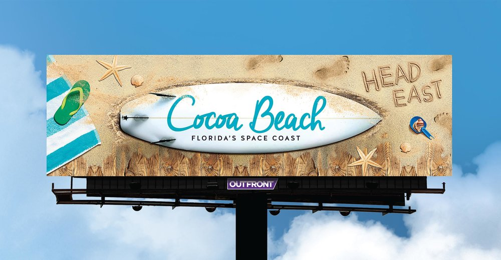 Soft Signs 3D Cocoa Beach Surfboard