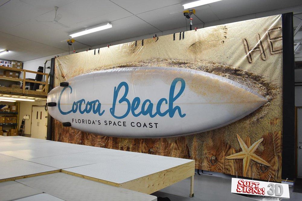 Cocoa Beach Florida Surfboard