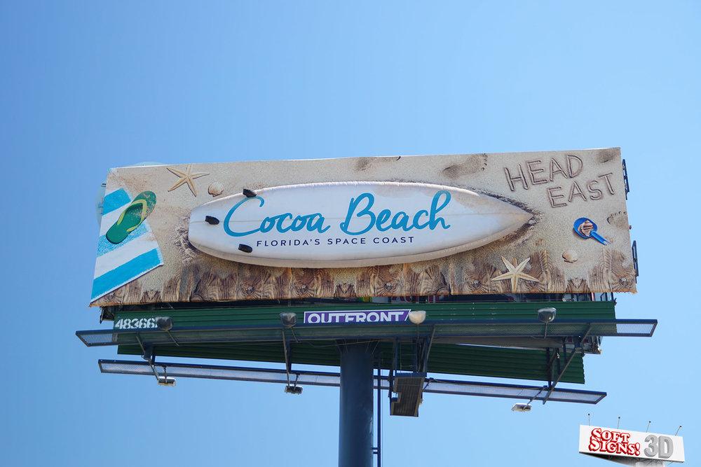 Soft Signs 3D Cocoa Beach Florida