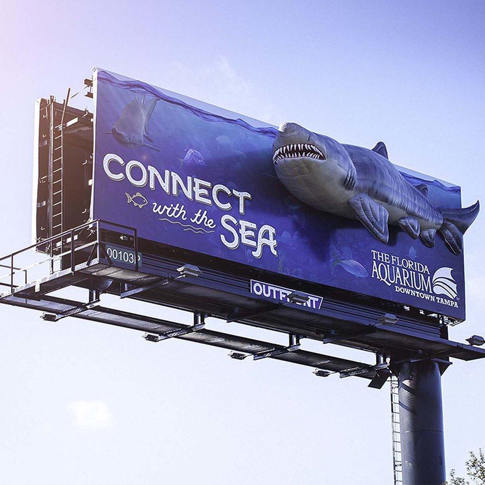 Soft Signs 3D Florida Aquarium Shark