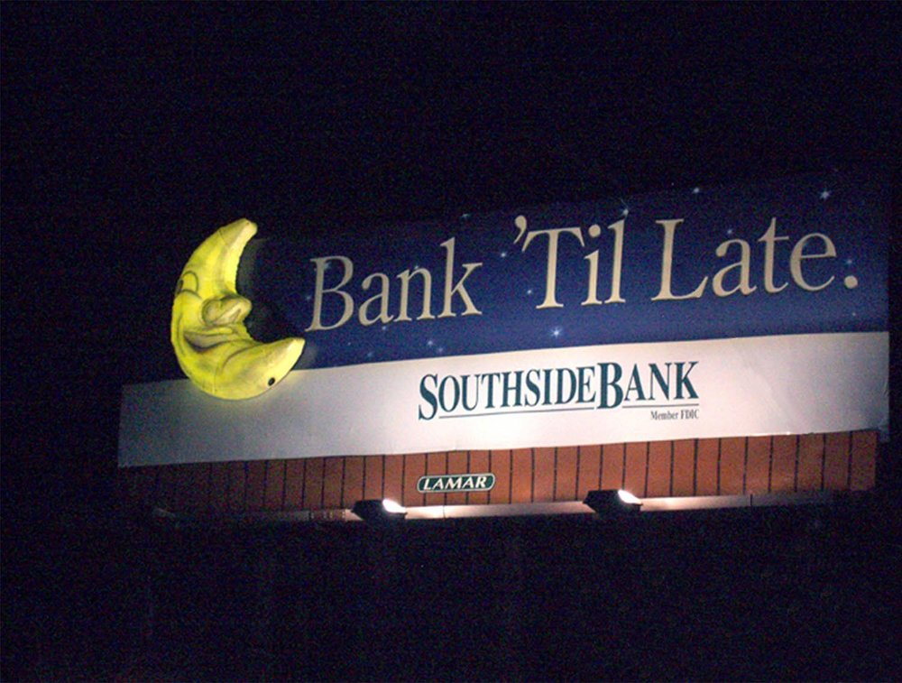 Soft Signs 3D Southside Bank 3D Moon