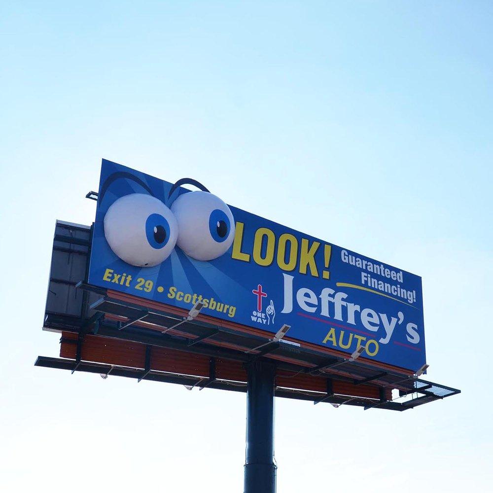 Soft Signs 3D Jeffs Auto - Eyes
