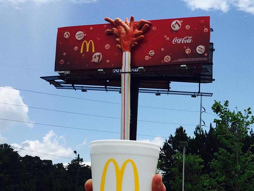 McDonalds 3D by Soft Signs 3D
