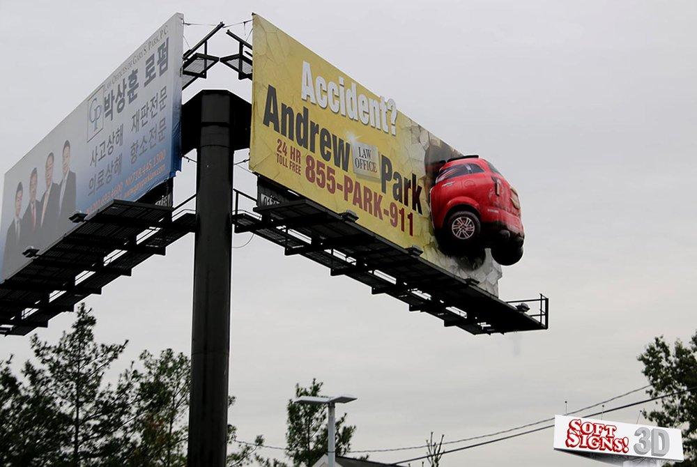 Andrew Park suv Billboard