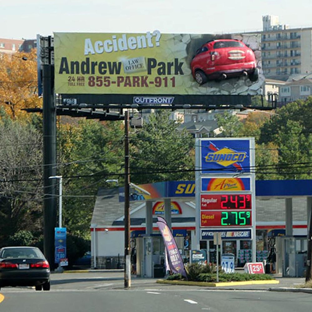 Andrew Park 3D Billboard by Soft Signs 3D