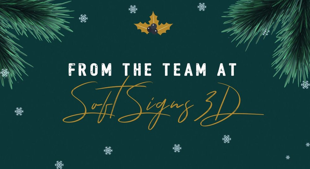 Merry Christmas From Soft Signs 3D