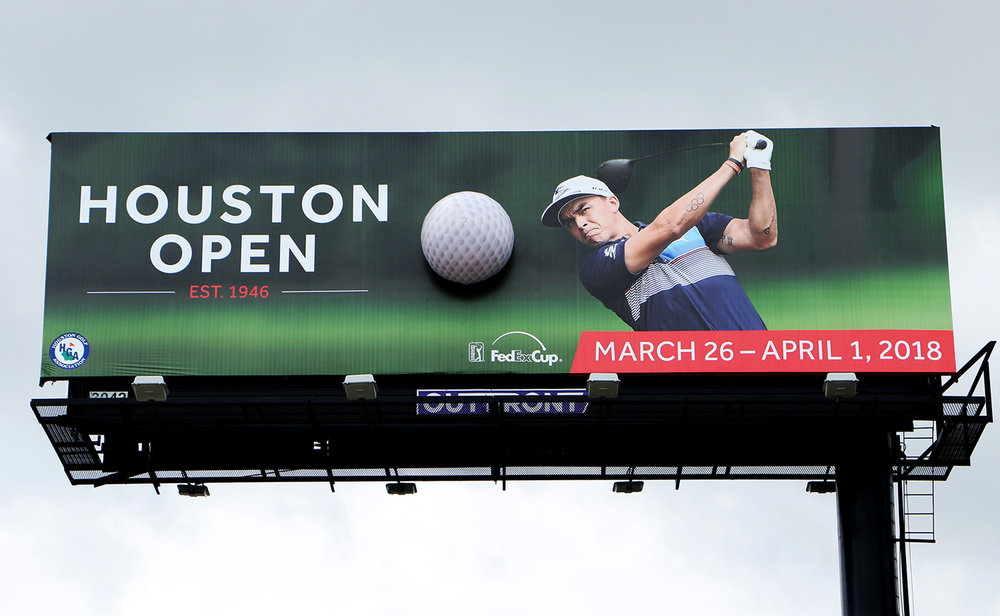 Houston Open 3D Golfball by Soft Signs 3D