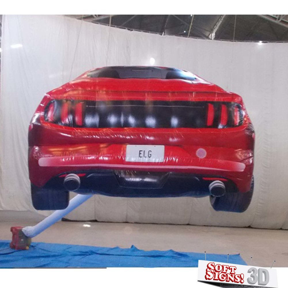 3D Mustang Air Sculpture
