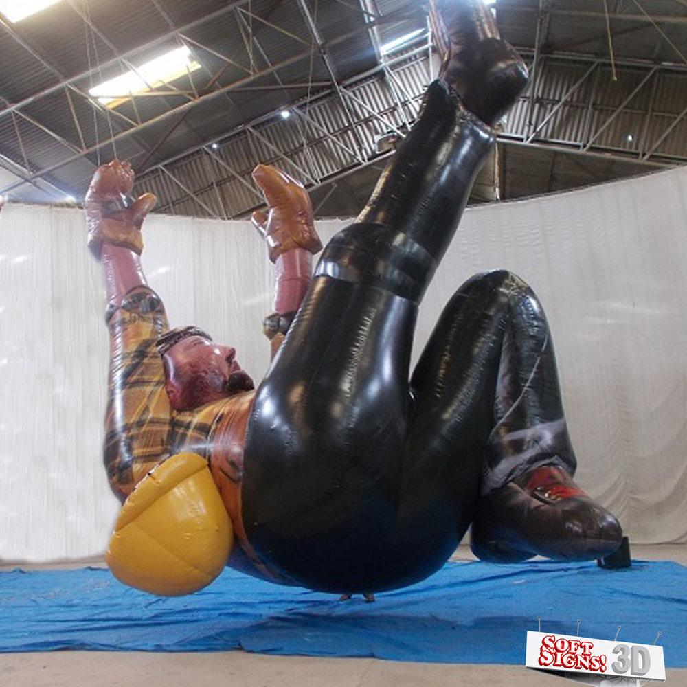 Falling Man Air Sculpture