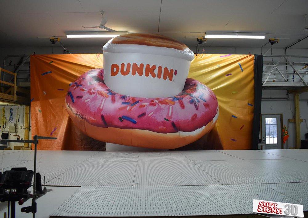 Dunkin' Donuts 3D Install process