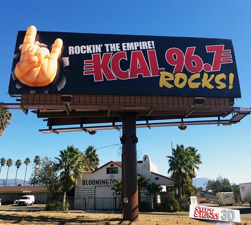 KCAL 96-7 Soft Signs 3D