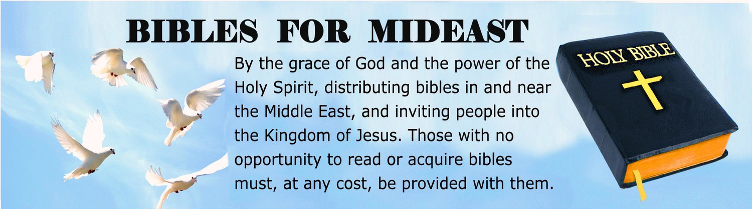 Bibles for Mideast