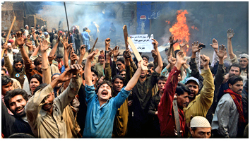 Riots in Pakistan, 2013