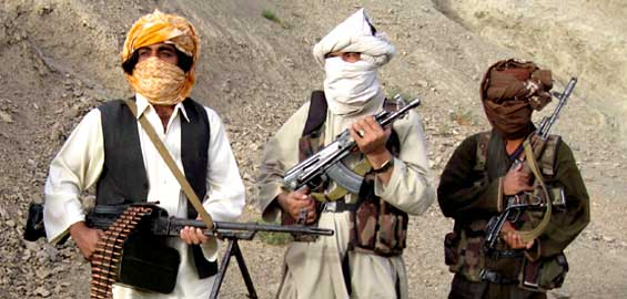 Taliban fighters in afghanistan (EPA)