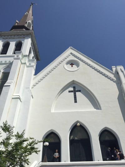 First Sunday service after the shooting at Emanuel AME in Charleston, SC